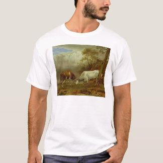 Zwei Stiere mit verschlossenen Hörnern, 1653 T-Shirt