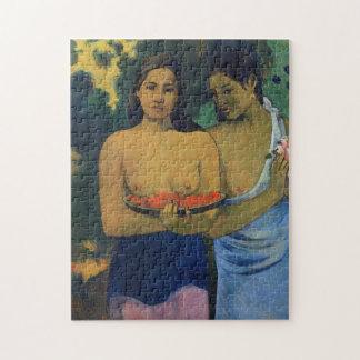 """Zwei Tahitian Frauen"" - Paul Gauguin Puzzle"
