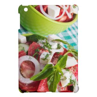 Zwei Teile der nützlichen vegetarischen iPad Mini Cover