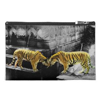 Zwei Tiger-Farbeffekt