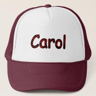 Zwei Ton-Maschen-Hut für Carol Truckerkappe