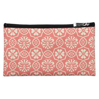 Zwei-Ton mittlere kosmetische mit Blumentasche Cosmetic Bag