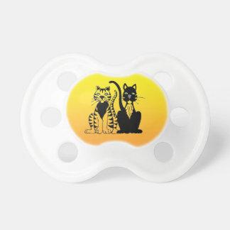 Zwei Ton-Sonnenschein-Gelb Schnuller