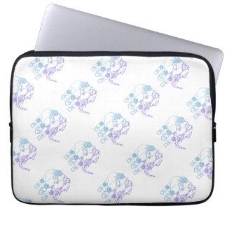Zwei-Ton verschönerte Elefant-Laptop-Hülse Laptop Sleeve Schutzhüllen