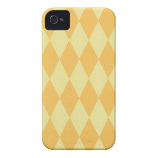 Zwei tonten gelbe Harlekine Case-Mate iPhone 4 Hülle