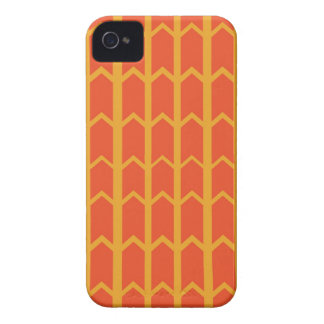 Zwei tonten orange Platten-Zaun iPhone 4 Cover
