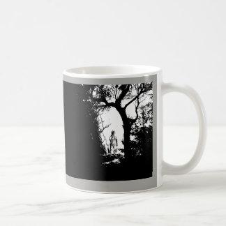 Zwei TonWerewolf in der WaldTasse Kaffeetasse
