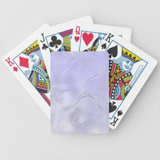 Zwei Tulpe-Blumen-Skizze im Blau Bicycle Spielkarten