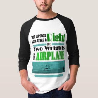 Zwei Unrecht macht nicht ein Recht T-Shirt