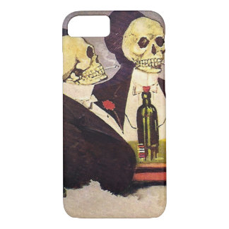 Zwei Vintage Skelette iPhone 8/7 Hülle