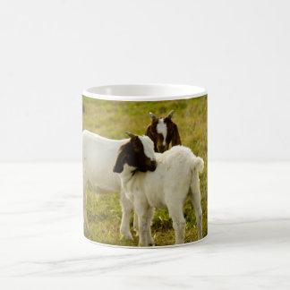 Zwei Ziegen Kaffeetasse