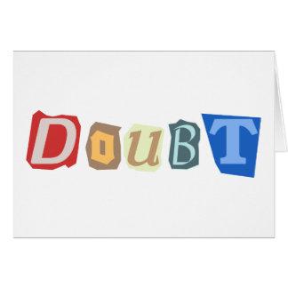 Zweifel Grußkarte