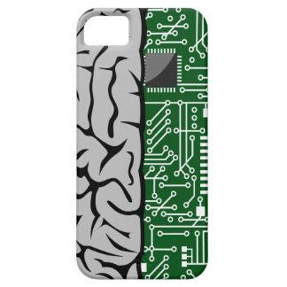 Zweiheit, die High-Techen menschliches Gehirn iPhone 5 Cover