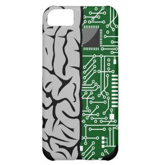 Zweiheit, die High-Techen menschliches Gehirn iPhone 5C Hülle