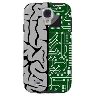 Zweiheit, die High-Teches menschliches Gehirn Galaxy S4 Hülle