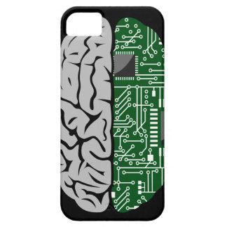 Zweiheit, die High-Teches menschliches Gehirn iPhone 5 Case