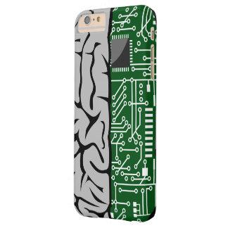 Zweiheit, die High-Teches menschliches Gehirn Barely There iPhone 6 Plus Hülle