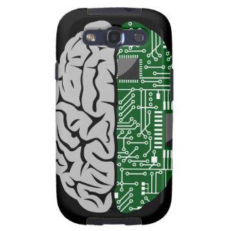 Zweiheit, die High-Teches menschliches Gehirn Sams Galaxy SIII Schutzhülle