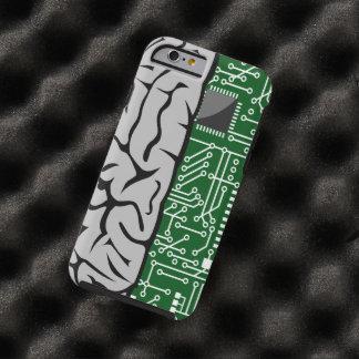 Zweiheit, die High-Teches menschliches Gehirn Tough iPhone 6 Hülle