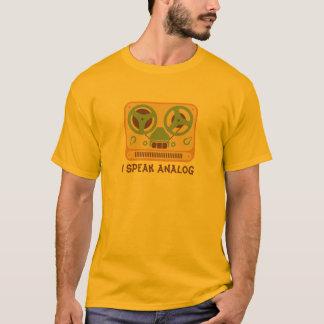 Zweispulentonbandgerät-analoges Gerät T-Shirt