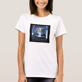 Zweite Änderungs-willkommene Damen T T-Shirt