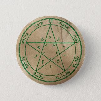 Zweites Pentagramm von Venus Runder Button 5,1 Cm