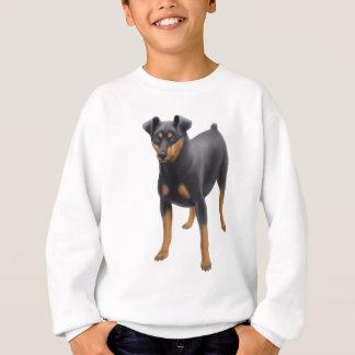 Zwergpinscher scherzt Sweatshirt
