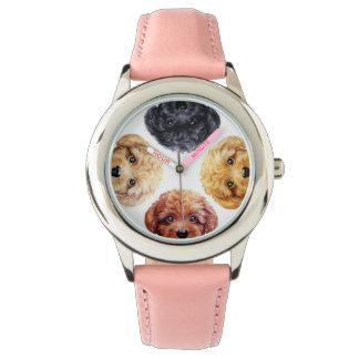 Zwergpudeluhr Armbanduhr