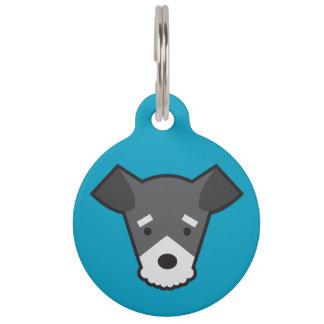 Zwergschnauzer-Erkennungsmarke Hundemarke