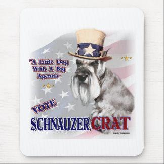 Zwergschnauzer-Geschenke Mauspads