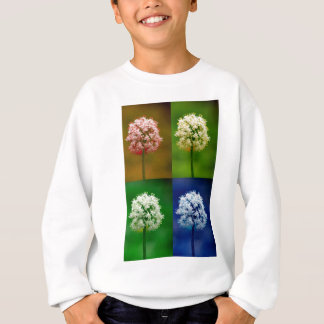 Zwiebel-Blumen-Power Sweatshirt