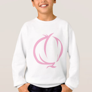 Zwiebel-Gemüse-Ikone Sweatshirt