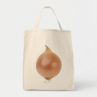 Zwiebel-Lebensmittelgeschäft-Tasche Einkaufstasche