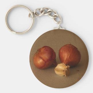 Zwiebel u. Knoblauch Schlüsselanhänger