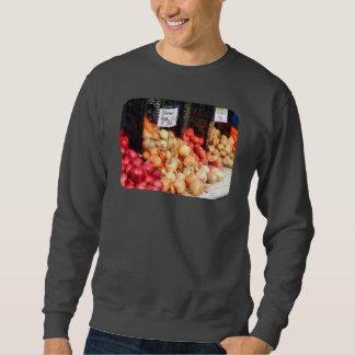 Zwiebeln und Kartoffeln Sweatshirt