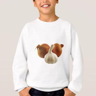 Zwiebeln und Knoblauch Sweatshirt