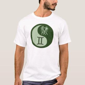 Zwillinge Yin Yang T-Shirt