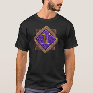 Zwillings-3-D Emblem-T - Shirts