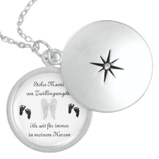 Zwillingskette für Sternenmamas Medaillon