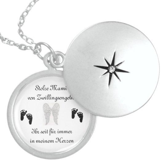 Zwillingskette für Sternenmamas Sterling Silberkette