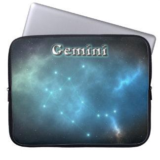 Zwillingskonstellation Laptopschutzhülle