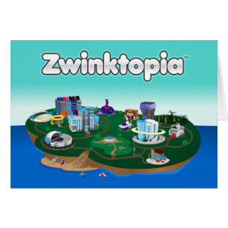 Zwinktopia Anmerkungs-Karte Mitteilungskarte