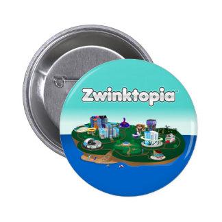 Zwinktopia Knopf Runder Button 5,7 Cm