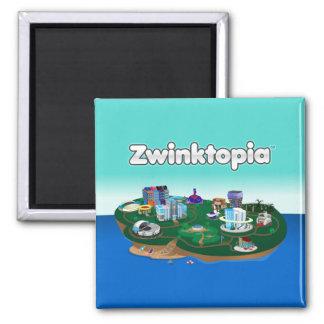 Zwinktopia Magnet Quadratischer Magnet
