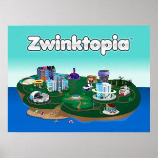 Zwinktopia Plakat