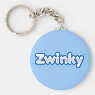 Zwinky Keychain Standard Runder Schlüsselanhänger