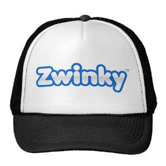 Zwinky Logo-Hut - Schwarzes Retrokappe