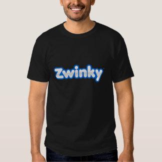 Zwinky Logo-T - Shirt - Schwarzes