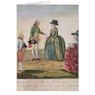 Zwischen Joseph II und Kaiserin treffen Karte