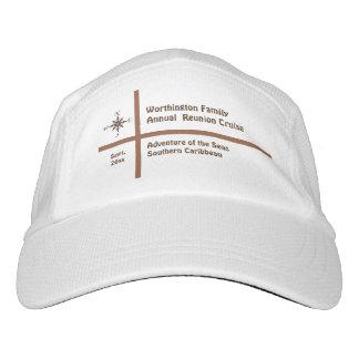 Zwischenlagen-Kompass-Rosen-kundenspezifische Headsweats Kappe